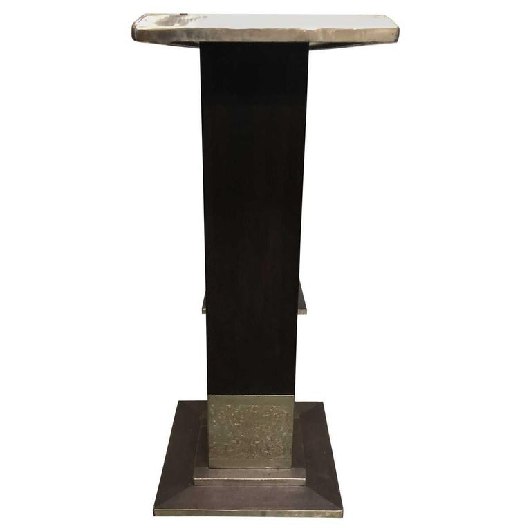 20th Century Moroccan Style Hammered Console Table For Sale