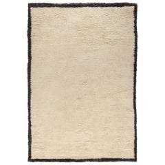 Moroccan Touch MT Border Ivory and Dark Gray Carpet