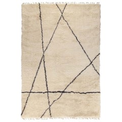 Moroccan Touch MT01 Ivory and Dark Gray Carpet