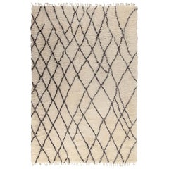Moroccan Touch MT04 Ivory and Dark Gray Carpet