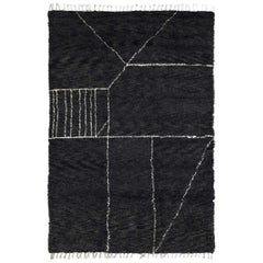 Moroccan Touch MT07 Charcoal and Ivory Carpet