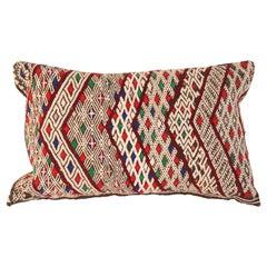 Moroccan Tribal Berber Throw Pillow