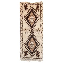 Moroccan Vintage Azilal Tribal Runner