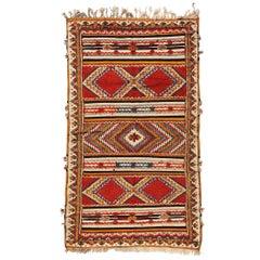 Vintage Moroccan Tribal Rug or Carpet