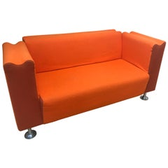 Moroso M Orange Collection Wool Sofa