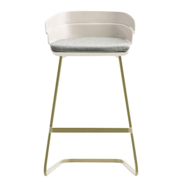 Moroso Rift Counter Stool by Patricia Urquiola in Six Color Options
