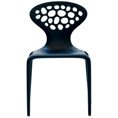 Moroso Supernatural Perforated Side Chair Set of 4 by Ross Lovegrove