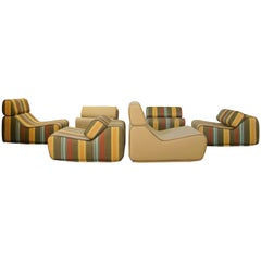 "Moroso ""Transform"" Modular Seating by Numen Design Group 'Multi-Color Stripe'"