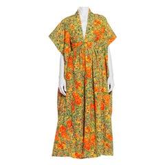 Morphew Collection Kaftan In Vintage 1940's Japanese Kimono Silk