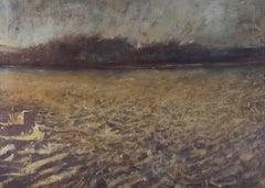 Morris - Contemporary Oil, Stubble Field