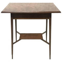 Morris and Co. Designed by George Jack, a Superior Quality Walnut Side Table