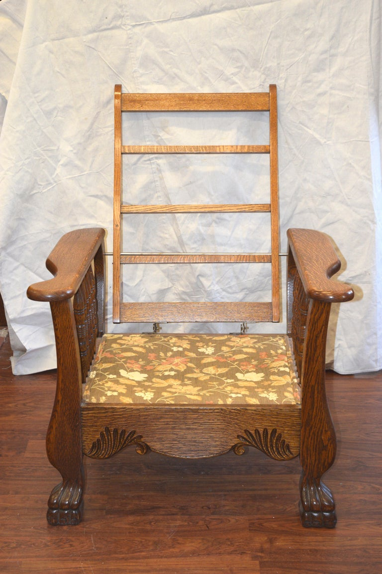 Morris Chair Recliner At 1stdibs