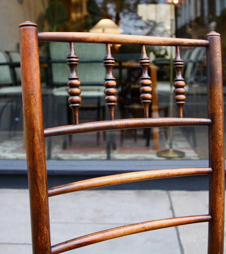 Beech Morris & Co Pair of Arts & Crafts 'Sussex' Chairs, 1864 For Sale