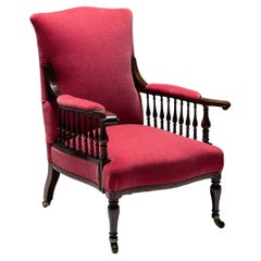 Morris & Co Saville Armchair in 100% Mohair from Pierre Frey