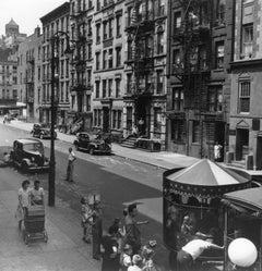 Shoeshine Boy, East 10th Street, New York City