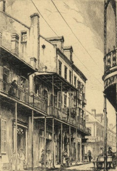 Old Rue Royale (French Quarter in New Orleans)