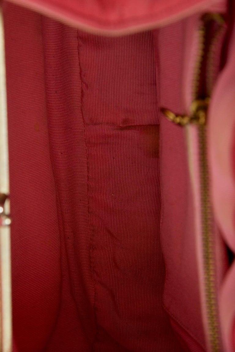 Morris Moskowitz Rose Pink 1960s Bag For Sale 6