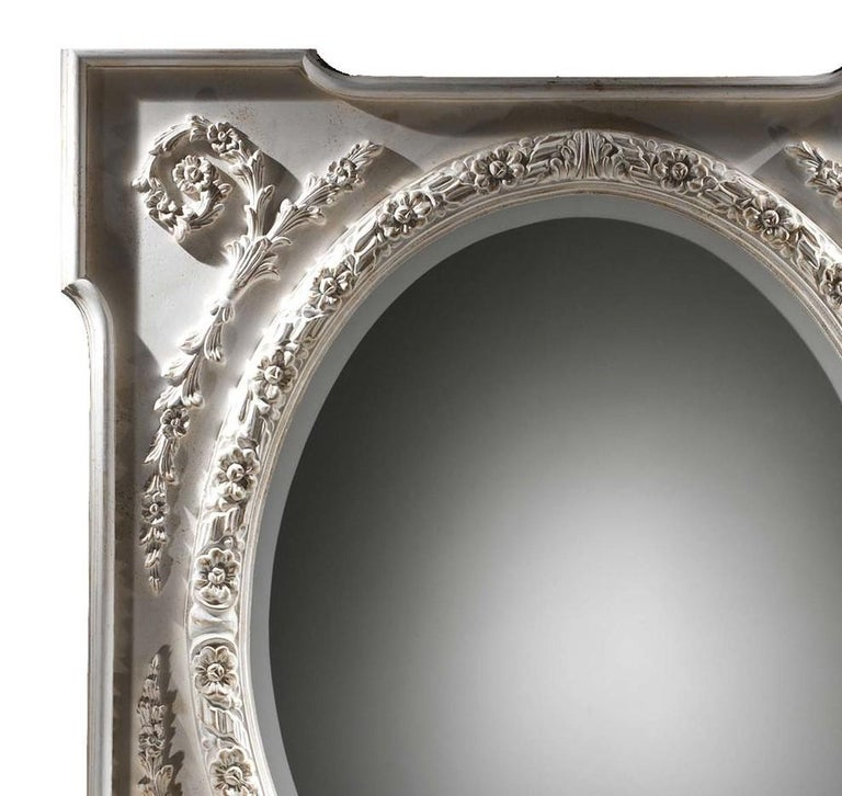 Morris wall mirror by Spini Firenze.