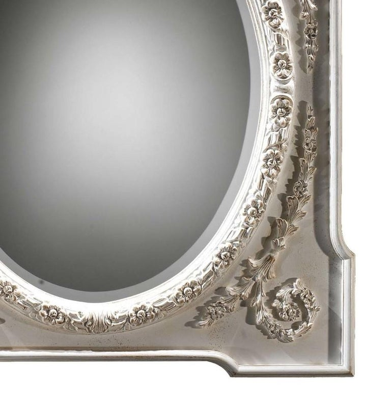 Italian Morris Wall Mirror by Spini Firenze