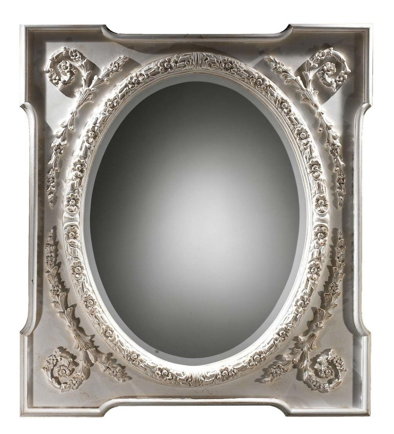 Morris Wall Mirror by Spini Firenze In New Condition In Milan, IT