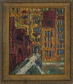 Mid Century Paris -- The Courtyard