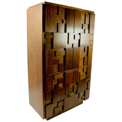 Mosaic Brutalist Chifferobe by Lane Furniture