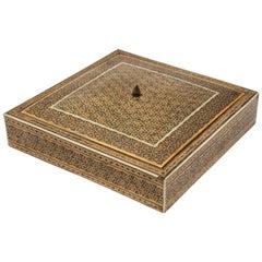 Mosaic Inlaid Jewelry Moorish Box