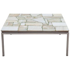 Mosaic Marble Coffee, End Table, 1960s