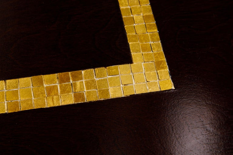Mosaic Tile Coffee Table by Edward Wormley for Dunbar, circa 1950s, Signed For Sale 7