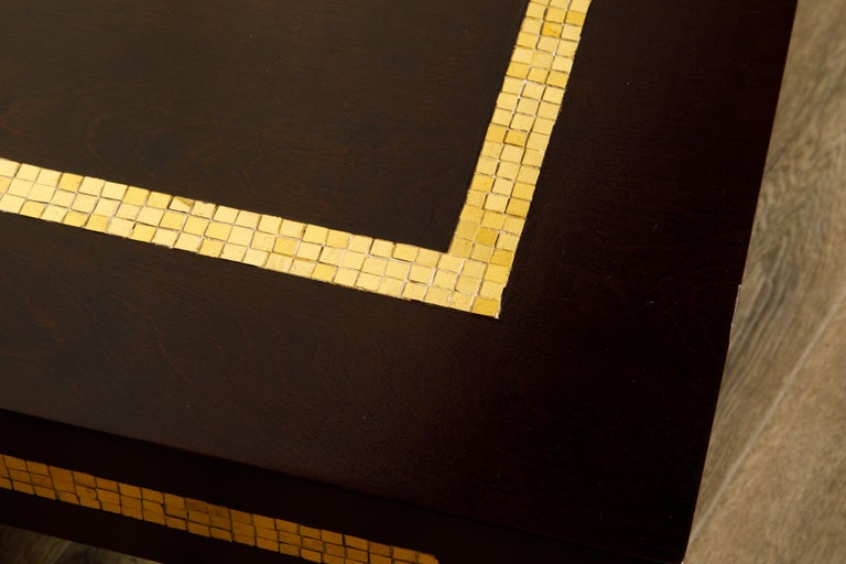 Mosaic Tile Coffee Table by Edward Wormley for Dunbar, circa 1950s, Signed For Sale 11