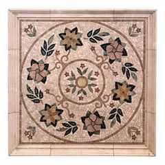 Mosaic Tile Medallion Centerpiece