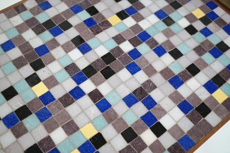 Mosaic Tile Side Table by Vladimir Kagan for Kagan-Dreyfuss, circa 1955 For Sale 4