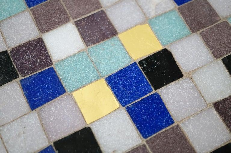 Mosaic Tile Side Table by Vladimir Kagan for Kagan-Dreyfuss, circa 1955 For Sale 5