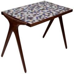 Mosaic Tile Side Table by Vladimir Kagan for Kagan-Dreyfuss, circa 1955