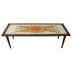 Mosaic Tile Top Coffee Table