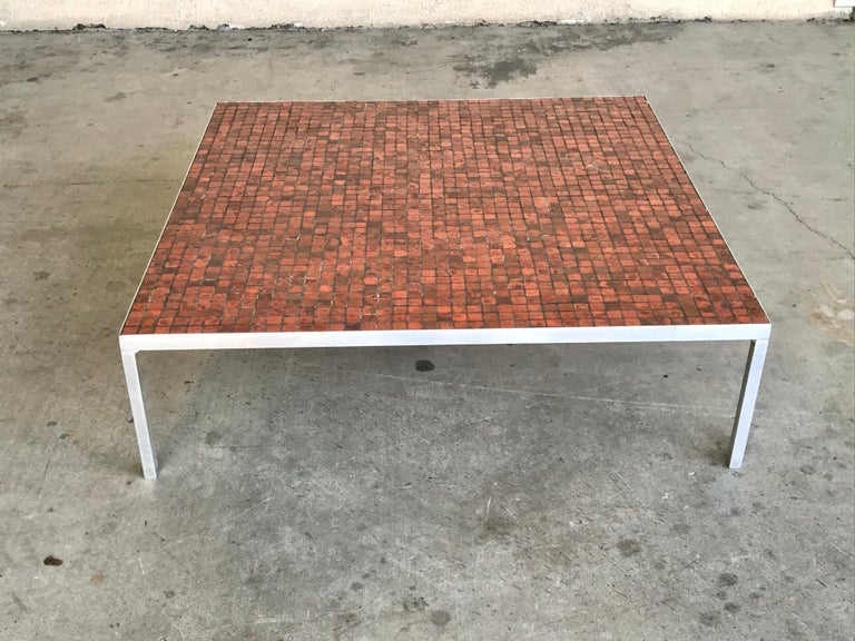 This simple modernist design appears to be a custom piece.