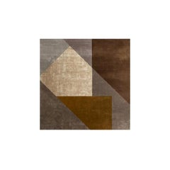 Molteni&C Mosaico Rug Marta Ferri Design Silk and Wool