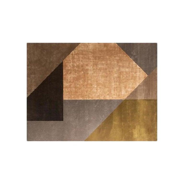 Molteni&C Mosaico Rug Marta Ferri Design Silk and Wool For Sale