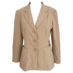 Moschino beige jacket