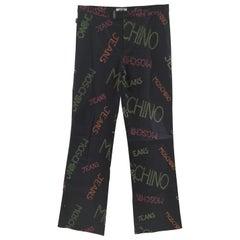 Moschino black written pants