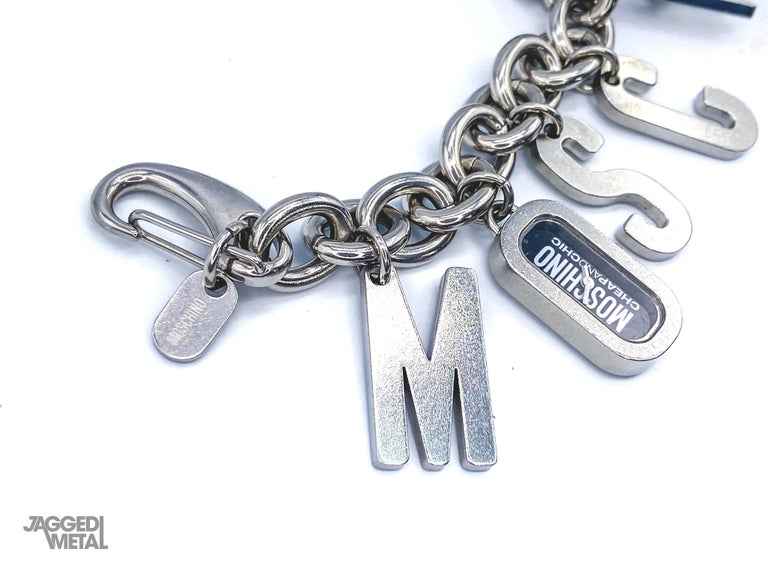 MOSCHINO Bracelet Vintage 2000s  For Sale 2