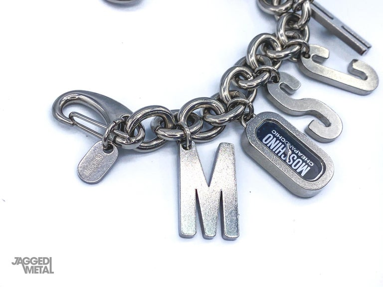 MOSCHINO Bracelet Vintage 2000s  For Sale 3