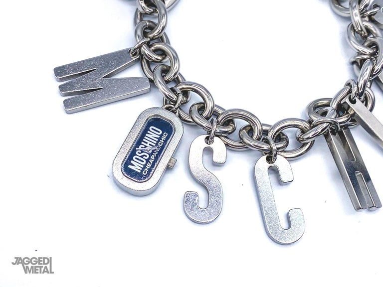 MOSCHINO Bracelet Vintage 2000s  For Sale 4
