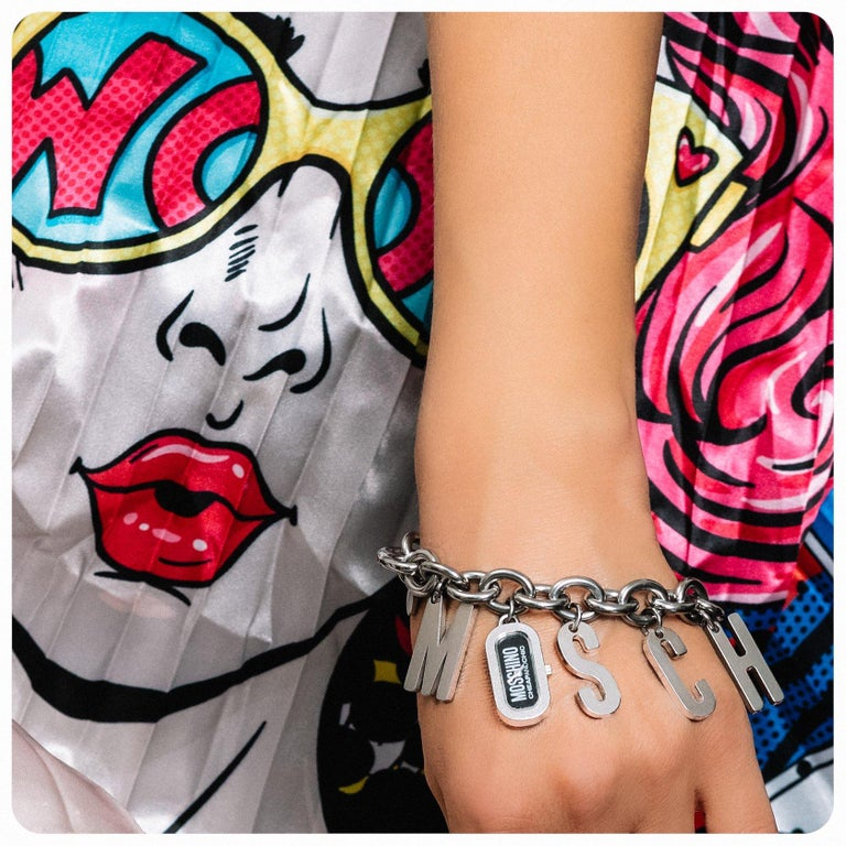 MOSCHINO Bracelet Vintage 2000s  In Excellent Condition For Sale In London, GB