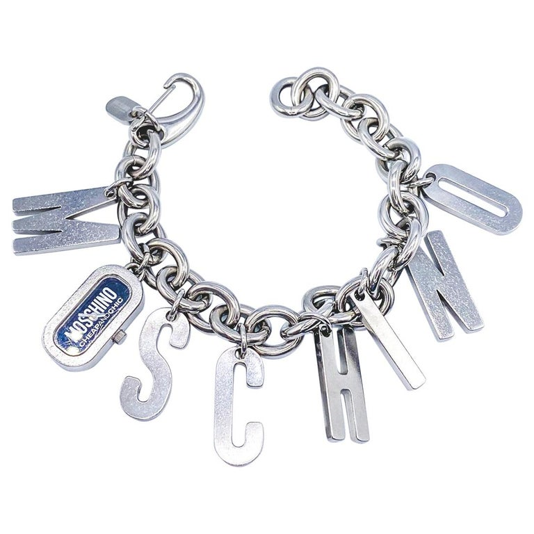 MOSCHINO Bracelet Vintage 2000s  For Sale