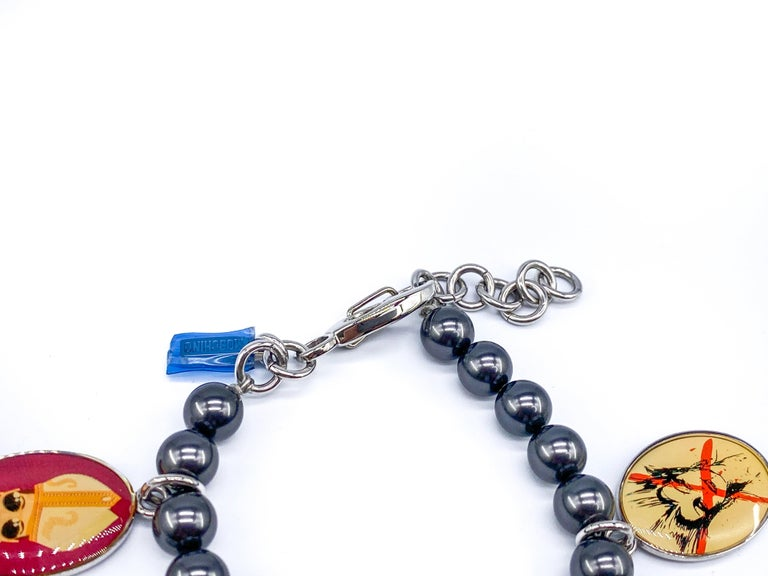 MOSCHINO Bracelet Vintage 2000s Time 4 Holy For Sale 1