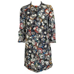 MOSCHINO by Jeremy Scott Soda Can print Coat