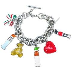MOSCHINO Charm Bracelet Vintage 1990s