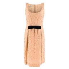 Moschino Cheap and Chic Lace Bow Waist Dress 12 (UK)