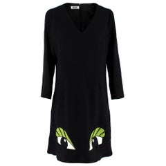 """Moschino Cheap and Chic  """"The Eyes"""" Dress - Size US 10"""